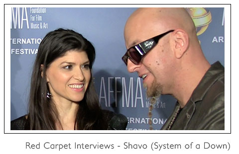 Interviewing Shavo from System of a Down